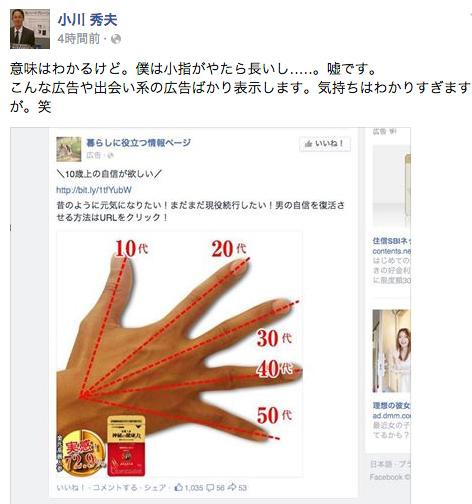 Facebook広告表示を調節したい時