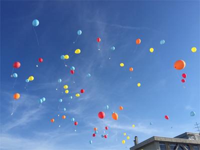 風船メッセージは夢がある