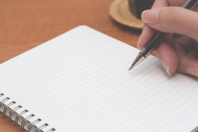 嫌な感情は「書く」ことによって整理する